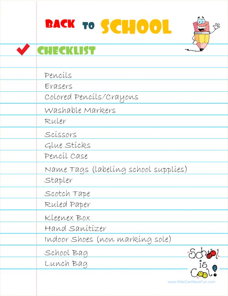 Mejores 7 imgenes de school labels en pinterest escolares back to school list cosas de la escuelaactividades para los nioshojas fandeluxe Images