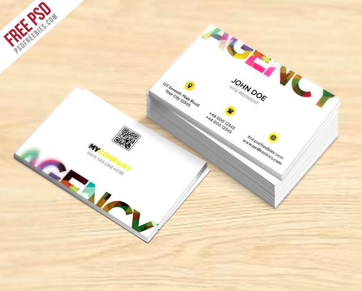 27 best free business card template psd images on pinterest free