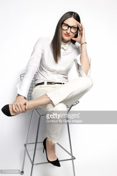 President and Creative Director of JCrew fashion brand Jenna Lyons is photographed for Fast Company Magazine on May 1 2013 in New York City ON...