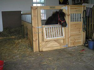 CMI Horse Stalls and Equipment- Customer photo gallery of horse stalls and barn equipment.