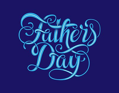 "Check out new work on my @Behance portfolio: ""Fathers Day Lettering"" http://be.net/gallery/54075111/Fathers-Day-Lettering"