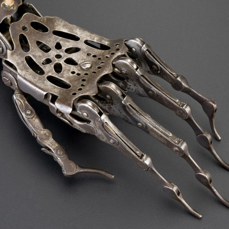 150 Year Old Victorian Prosthetic Hand - Imgur
