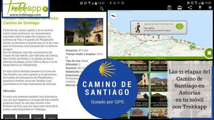 Camino de Santiago digital de Asturias - Trekkapp Todas las etapas del Camino de Santiago en Asturias, guiadas por GPS con Trekkapp.