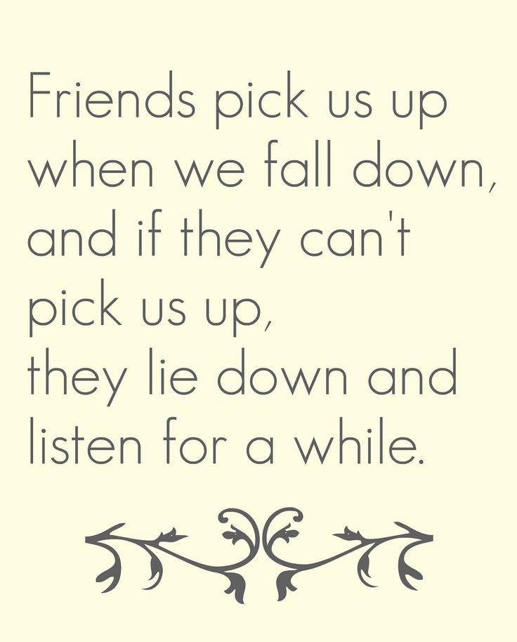 Friend quote via Etsy.