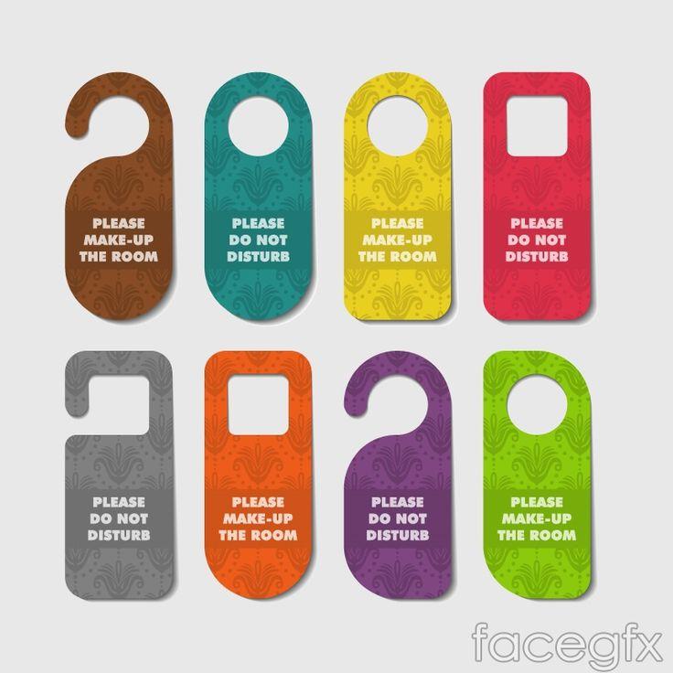 8 best Door Hangers images on Pinterest Door hangers, Door signs - retail and consumer door hanger template