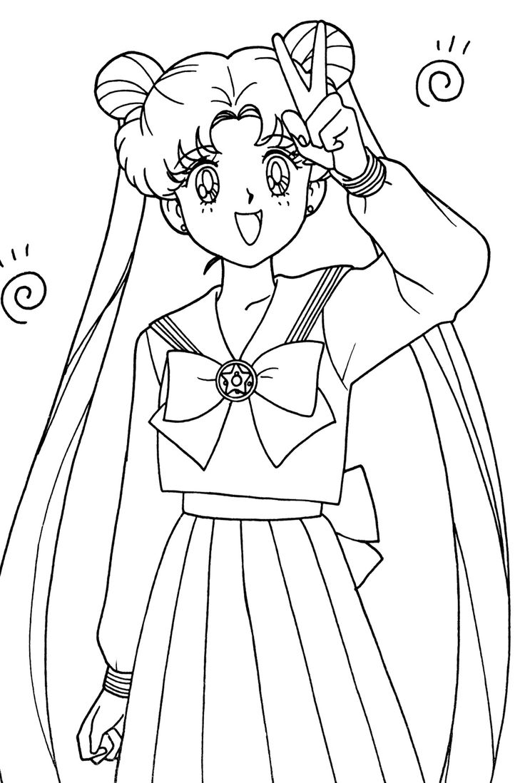 262 best Coloring Sailor Moon