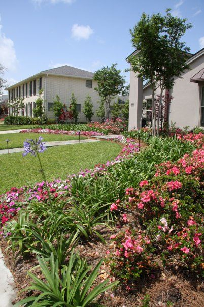 New Orleans Garden Design new orleans front courtyard Ponseti Landscaping Old Metairie Lakeview And Uptown New Orleans Garden Landscaping Design And Maintenance Pinterest