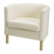IKEA SOLSTA OLARP Fauteuil Ransta écru (SOLSTA OLARP Chair Ransta natural) - Designer: IKEA of Sweden - Référence: 20099849