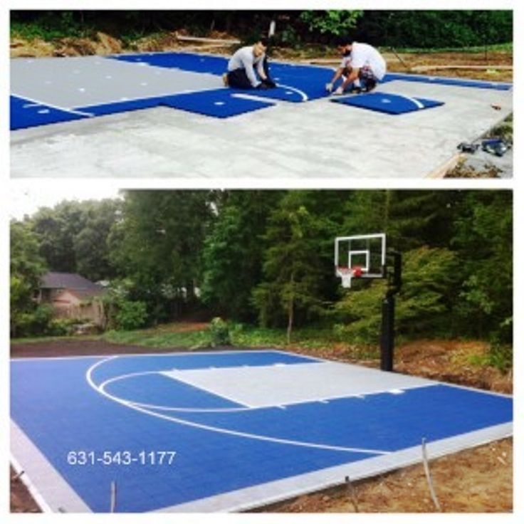 17 best paver walkways and steps images on pinterest for Built in basketball court
