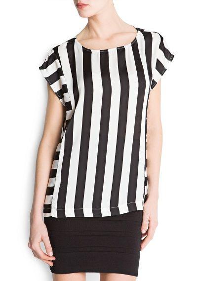 blusa de rayas verticales - Buscar con Google