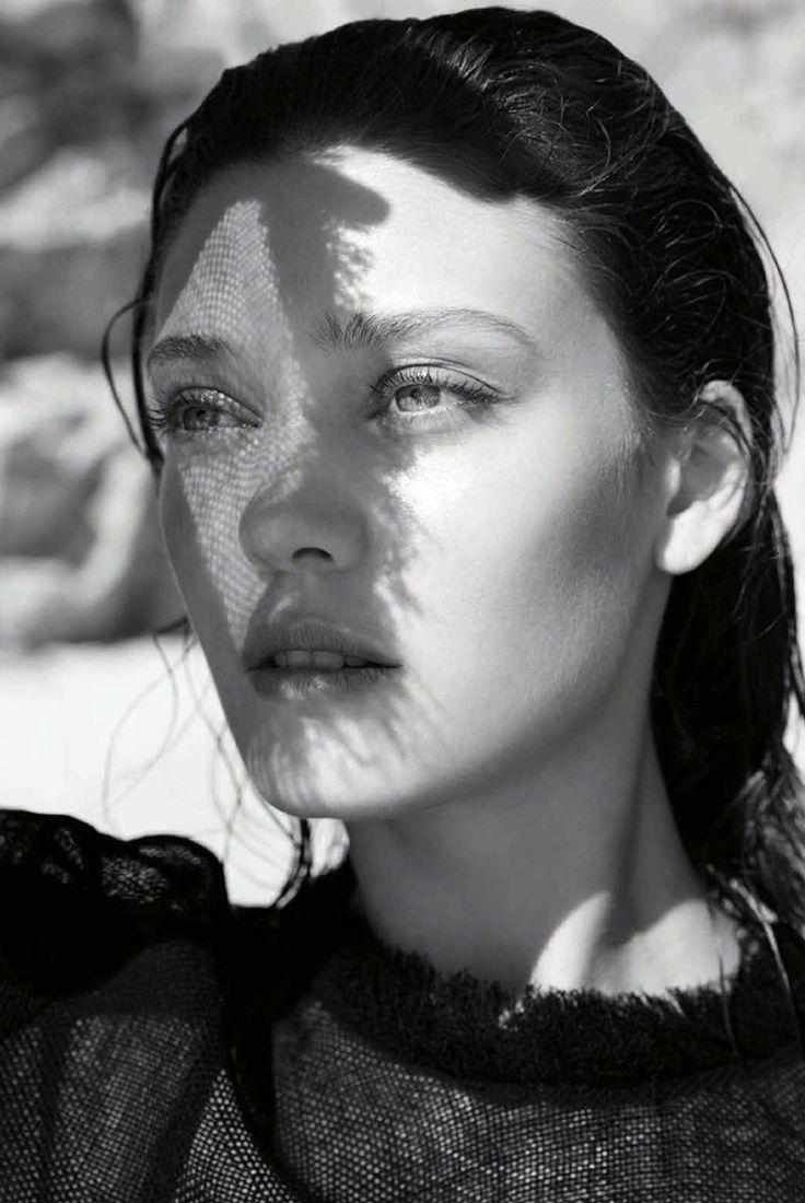 Diana Molodovan wears classic bikini cuts stars in Harper's Bazaar Australia Magazine January 2016 issue Photoshoot