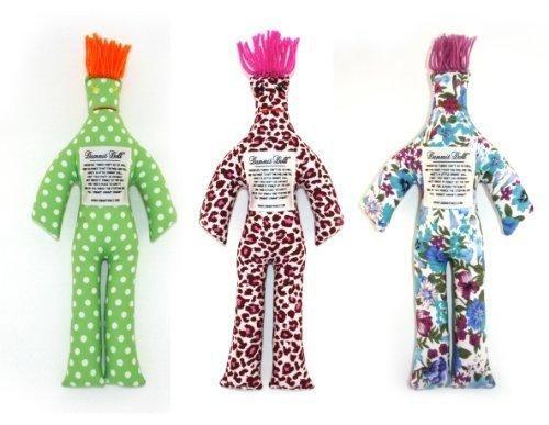 Dammit Doll - Ménage à Trois - Set of Three random Dammit Dolls - Stress Relief - Gag Gift