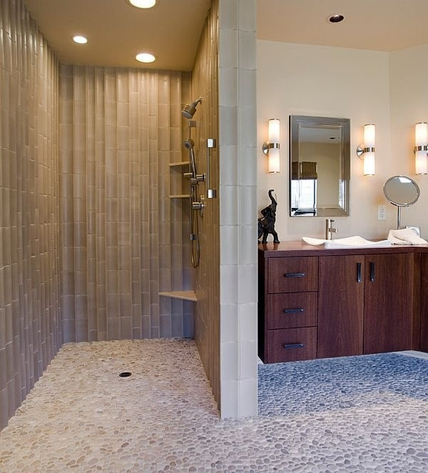 This Would Be Awesome To Have A Shower Without A Door. No Door Shower Design  Ideas, Pictures, Remodel, And Decor   Page