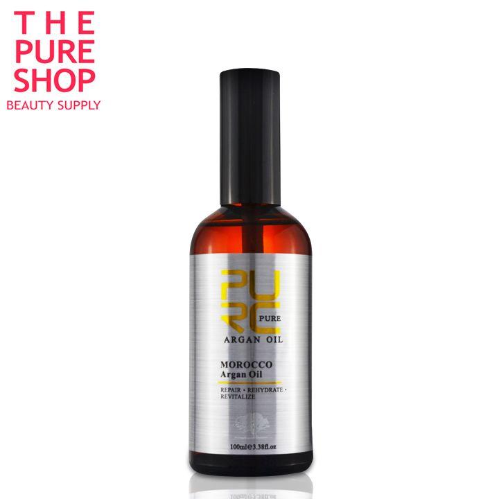 Marokański czysty olej arganowy pielęgnacja włosów 100 ml Olejek do włosów leczenie Ochrony włosów darmowa wysyłka naprawy uszkodzonych suche włosy