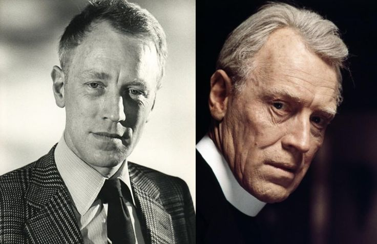 awesome When Max von Sydow played an elderly priest in The Exorcist he was only 43 years old. The groundbreaking makeup was so convincing that Max admits he was only offered elderly parts for many years afterwards. : MovieDetails