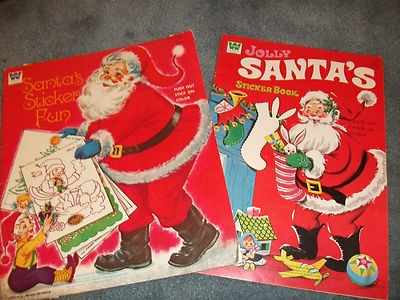Christmas Coloring Books Were Always Such Fun