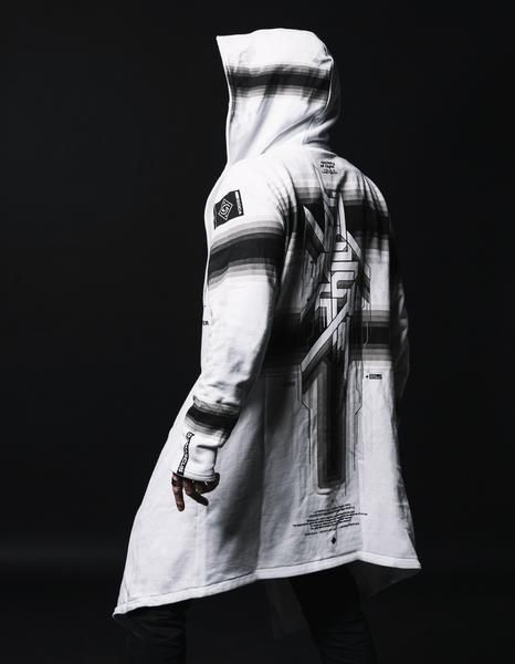 84007cc45 White Future Self Mantle in 2019 | chang | How to wear, Mantle, Future