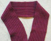 Cartridge belt scarf