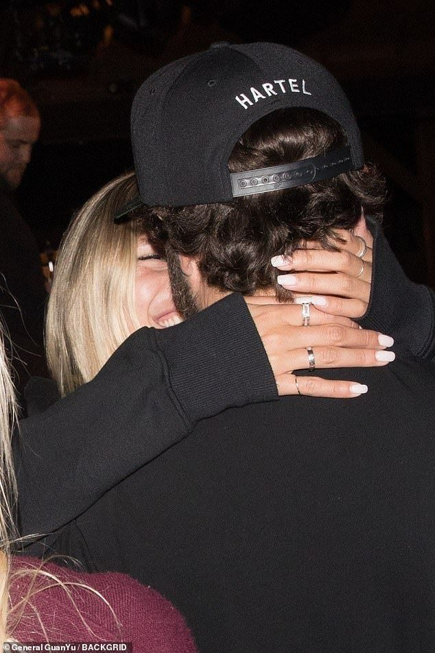 Brody Jenner packs on the PDA with new girlfriend Josie