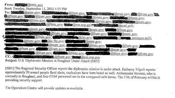 White House Benghazi email release-The First 67 Hours Are Missing. This is like Nixons missing 6 minutes on tape. Do we REALLY think the White House turned over ALL THE EMAILS?