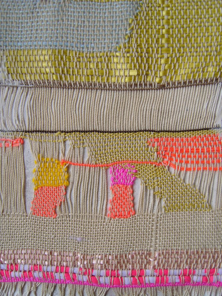 .. ..Wall Art, Colors Combos, Textiles Design, Pink, Weaving Inspiration, Embroidery Weaving, Blog, Fiber Art, Bright Colours