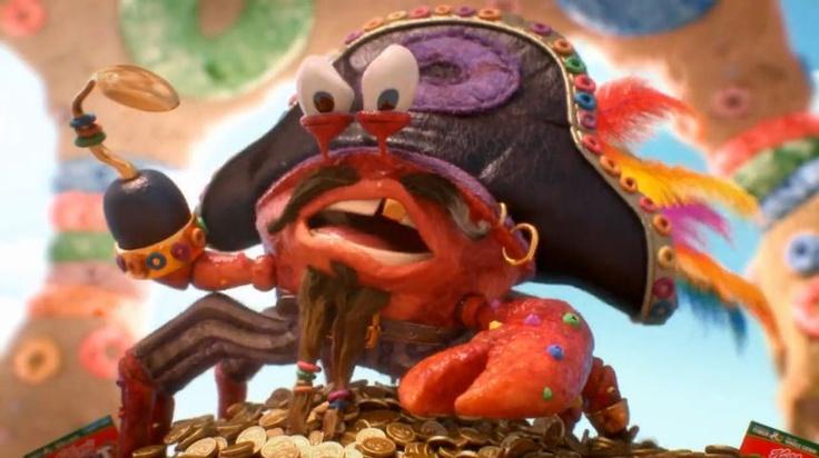 """Kellogg's Froot Loops """"Carl the King Crab"""""""