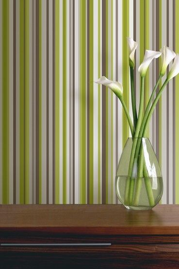 The Green Sophia Stripe From Arthouse Is A Stunning Geometric Stripe In A  Green And Grey Colourway   Absolutely Perfect Against The Coordinating  Sophia ...