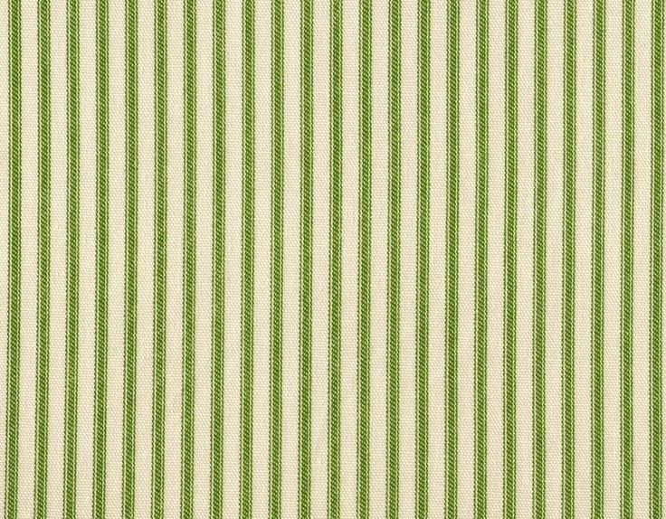 2 French Country Ticking Stripe Apple Green 84 Quot Curtain