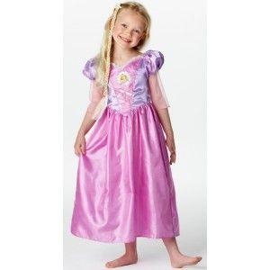 Déguisement princesse raiponce Disney fille, carnaval, fêtes, anniversaire, licence, Disney