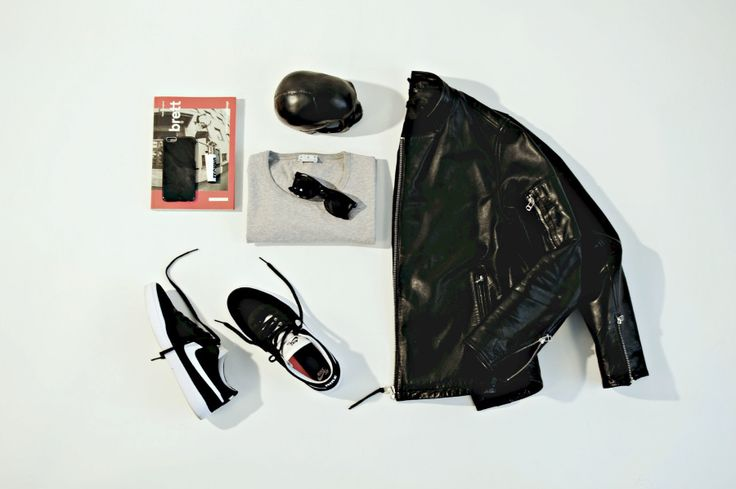 Skate & Leather  Flatlay / Menswear