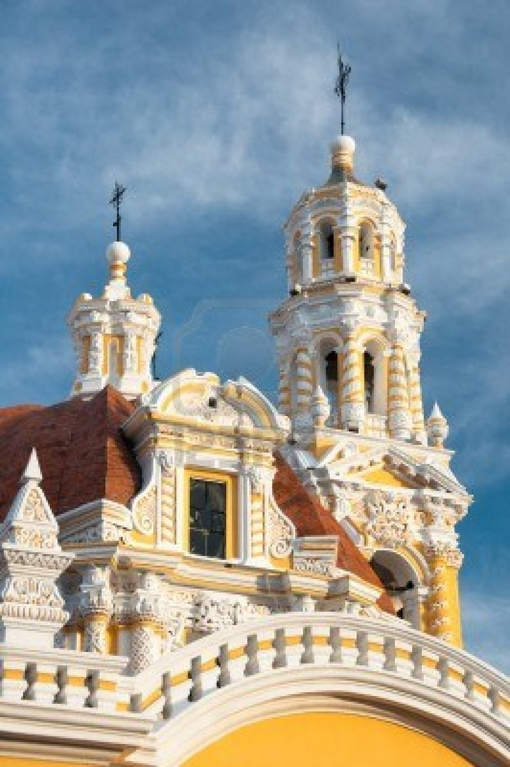Iglesia de Nuestra Señora de Guadalupe, Puebla de Zaragoza, México.