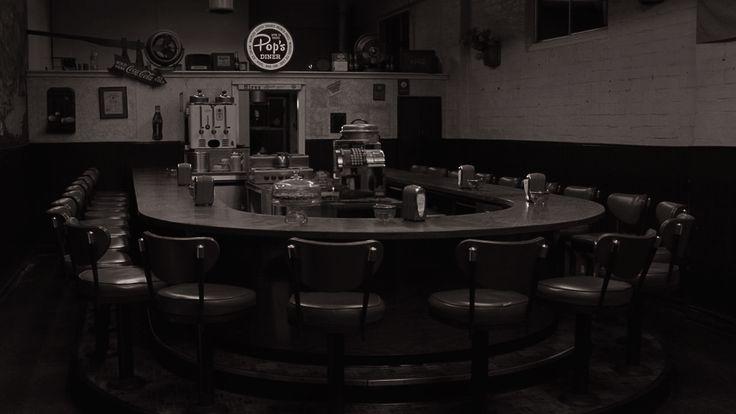 Twin Peaks — Part 8 Gotta light?   Pop's Diner