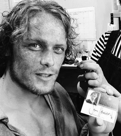 From Sam Heughan's twitter (edit)