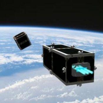 Satélite irá recolher lixo espacial