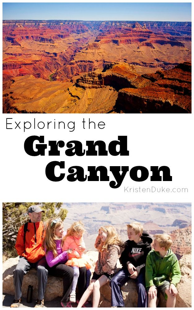 Exploring the Grand Canyon - fun family vacation to the South Rim KristenDuke.com