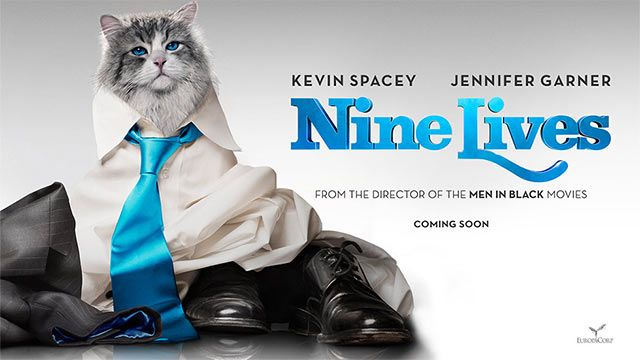 Poster Image Starring:Kevin Spacey,Robbie Amell,Jennifer Garner,Christopher Walken Malina Weissman,Mark Consuelos Directed by:Barry Sonnenfeld Distributed by:EuropaCorp. Release Date: August 5 2016. Nine Lives Trailer was last modified: February 16th, 2016 by Kaarle Aaron