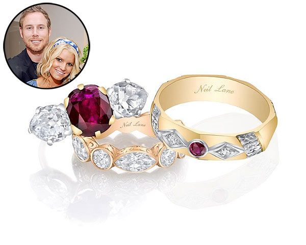 Jessica Simpson and Eric Johnson Wedding Rings