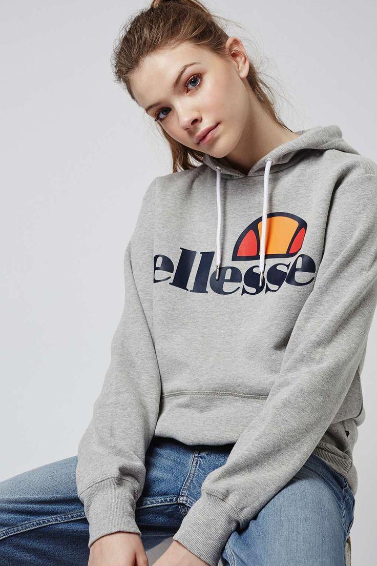 Oversized Hoodie by Ellesse - Topshop
