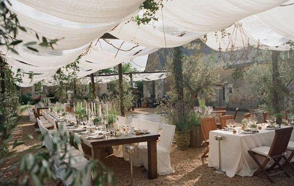 Toldos de #boda para una #celebración al aire libre, perfecta para bodas @innovias de #primavera y verano!