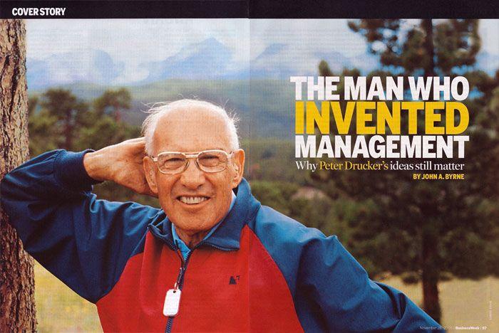 Peter Drucker - l'uomo che ha inventato il management