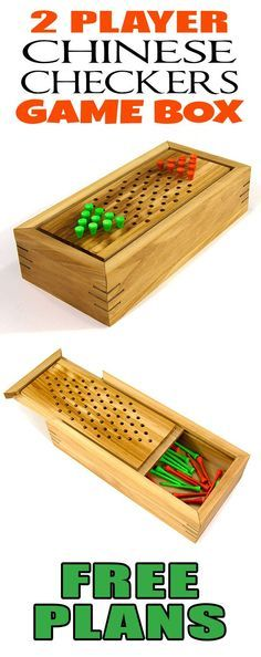 How To Make A 2 Player Chinese Checkers Game Box – Jays Custom Creations