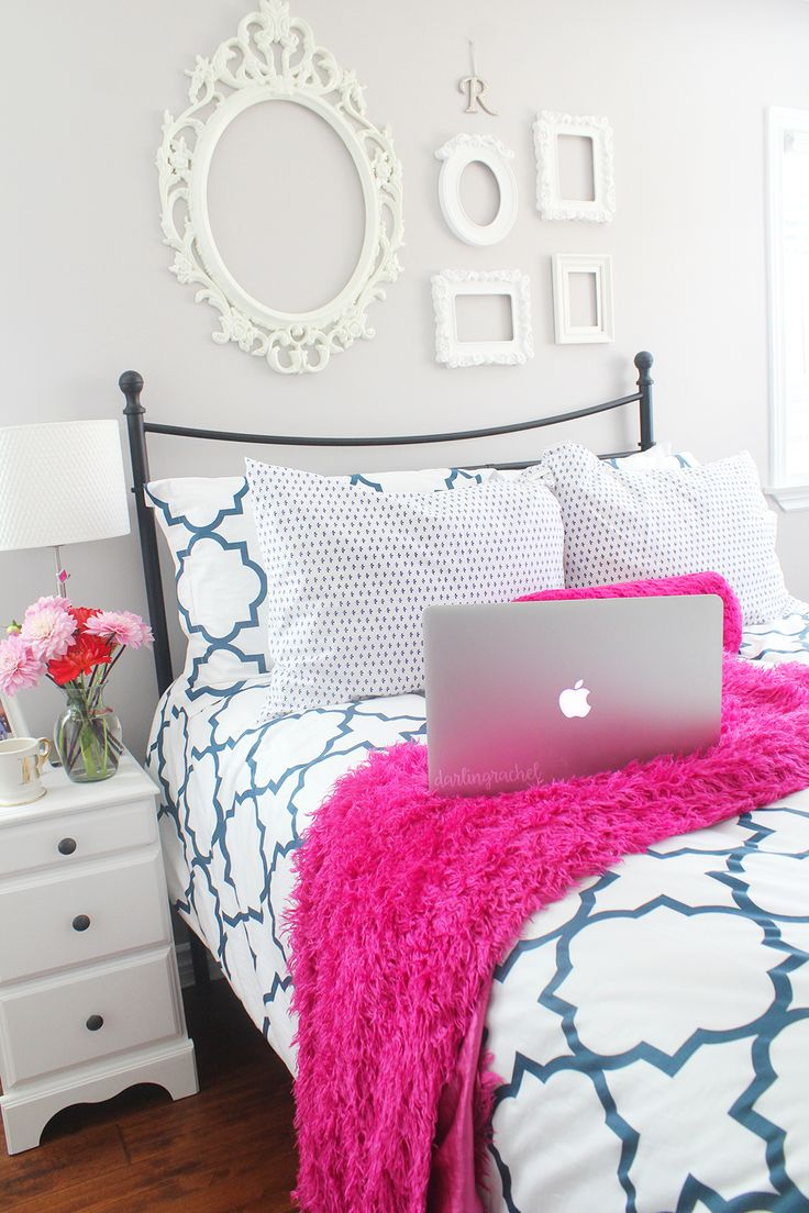 Pink Bedrooms 17 Best Ideas About Preppy Bedroom On Pinterest Pink Pillows