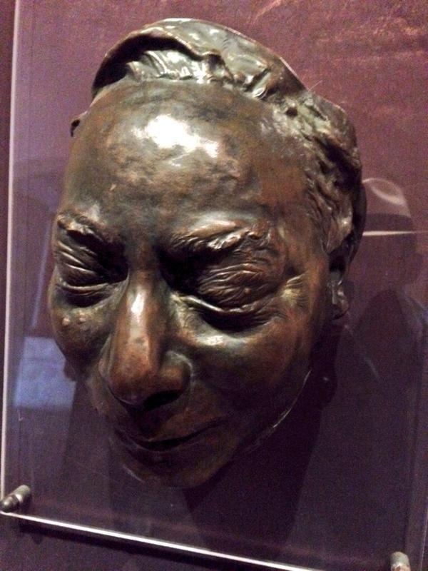Post mortem mask of Benito Juarez