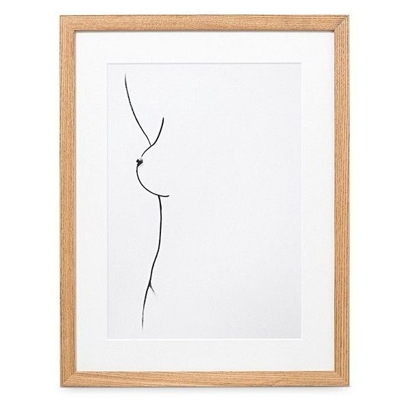 A4 Form Wall Art | Oliver Bonas (100 AUD) ❤ liked on Polyvore featuring home, home decor and wall art