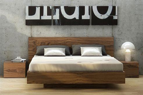 Moschino Walnut Bed Frame