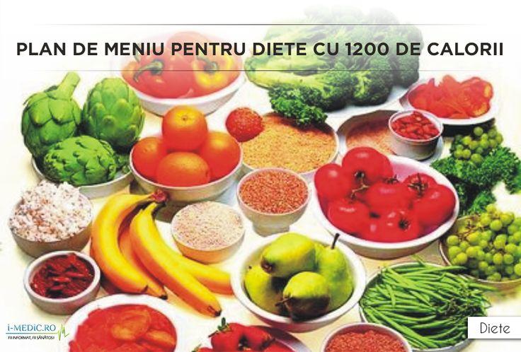 Daca va aflati in categoria celor care trebuie sa urmeze o dieta zilnica de 1200 de calorii, cele 5 planuri alimentare prezentate in cele ce urmeaza se pot dovedi extrem de utile. http://www.i-medic.ro/diete/plan-de-meniu-pentru-diete-cu-1200-de-calori