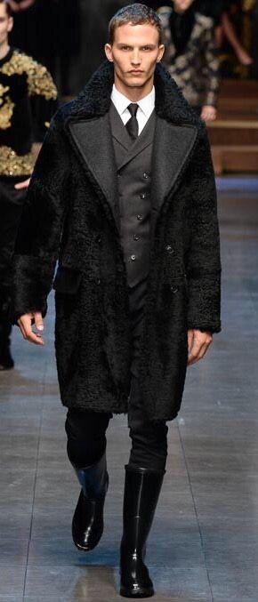 Dolce & Gabbana Fall Men's 2015 RTW