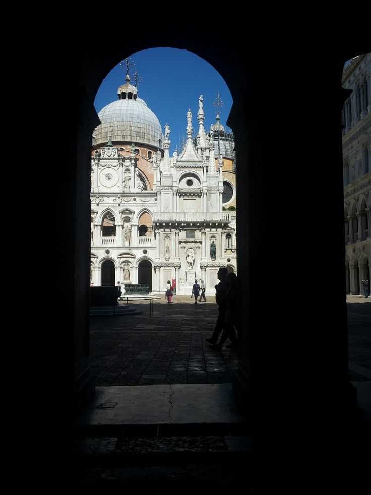 Facciata posteriore di S. Marco. Venezia.
