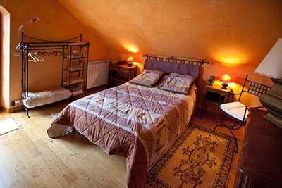 Une des Chambres d'hôtes à vendre en Aubrac en Lozère