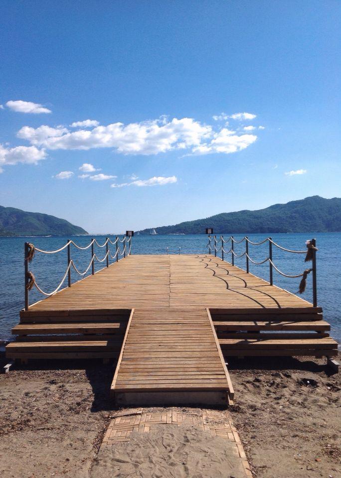 View at the beach Marmaris, Turkey